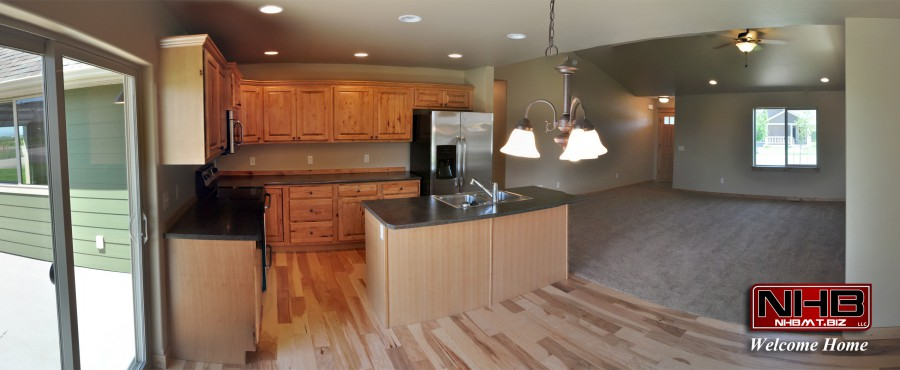 Kitchen loaded with Stainless steel appliances